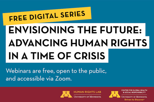 Envisioning the Future: Advancing Human Rights in a Time of Crisis
