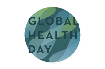 Global Health Day 2020 Logo and Text