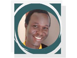 Portrait of Simple Ouma