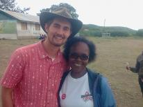Nyika Friberg and Dr. Louisa Ndunyu