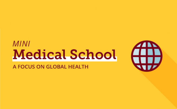 Mini Medical School: A Focus on Global Health Banner