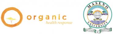 Logos for the Organic Health Response and Museno University